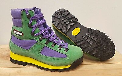 Scarpa Ladies Retro 80's Funky Vibram Sole Walking Hiking Boots, EU 37 UK 4½