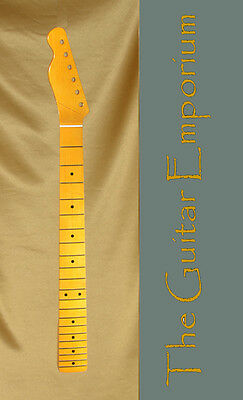 iFusion® Telecaster® Quartersawn Neck One-piece Maple FB, 21 Vintage Frets Lefty