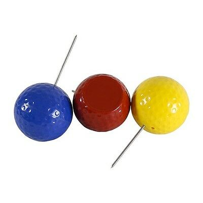 Marcatore PARTENZA TEE OFF GOLF DIMPLE TEE MARKER VARI COLORI