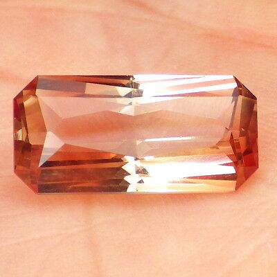 IMPERIAL OREGON SUNSTONE 4.64Ct FLAWLESS-HIGHLY ATTRACTIVE COLOR-FOR TOP JEWELRY