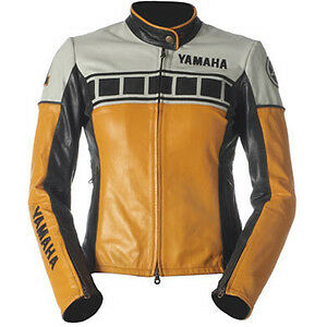Yamaha Giacca In Pelle Vintage Size M