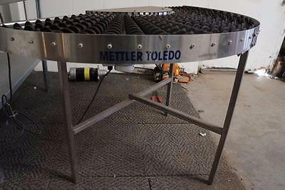 Mettler Toledo 90 degree Powered Conveyor for wrapping system