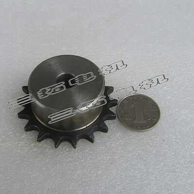 "1Pcs 3/8"" 10/15/18/25/30/40/50Tooth Chain Sprocket Pitch 9.53mm For #35 Chain"