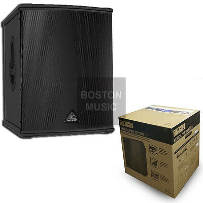 Behringer B1500XP Active Subwoofer Powered Sub 3000W Amplified w/ TURBOSOUND 15""