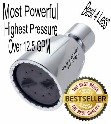 """swb-s3 Ultra High Pressure Shower Head Over 12.5gpm Bored to 21/32"""""""