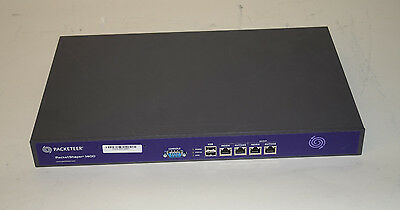 Best Price on Ebay Packeteer PacketShaper 1400 Network Monitoring LOT OF 2x