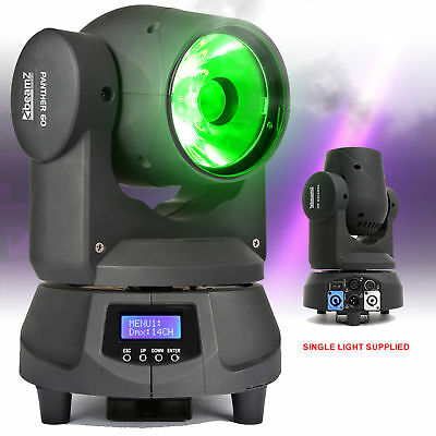 BEAMZ Panther 60 Powerful colour spot BEAM moving head DJ Disco DMX LED light