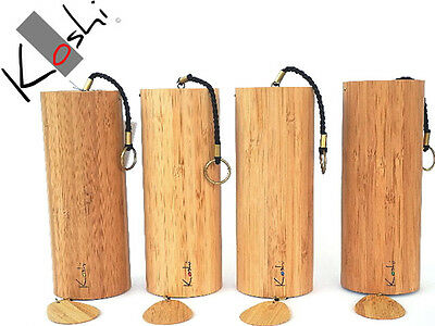 4x KOSHI WIND CHIMES - ALL 4 SOUNDS - AUDIO SAMPLE
