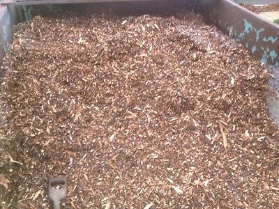 Wood Chip Bark Mulch Beds Weed Control Play Area Equestrian