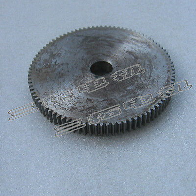 1Pcs 45# Steel Motor Spur Gear 1Mod 90Tooth 1M90T 92mm Outer Diameter 10mm Bore