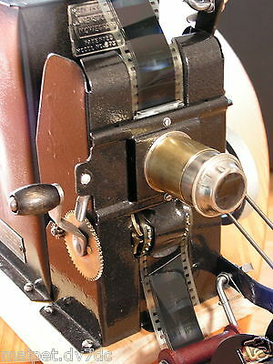 1920's Keystone Moviegraph 575W 35mm filmprojector makeover in working condition