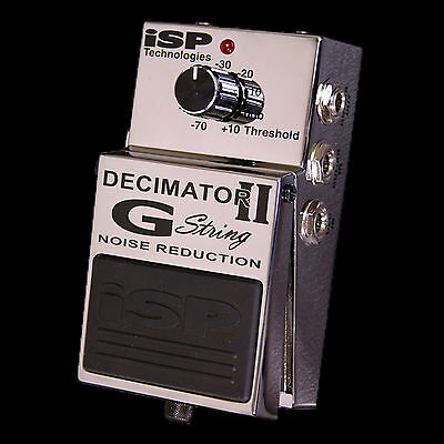 ISP G String II Dual Channel Noise Gate Pedal
