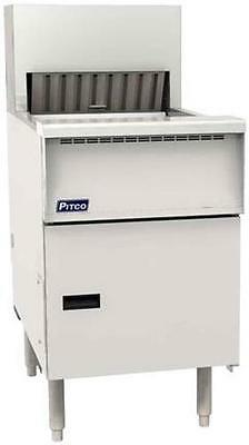 Pitco PCF-18 3-Bay Crisp N' Hold Floor Model Crispy Food Station