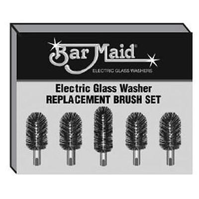 Bar Maid Standard Replacement Brush Set For Barmaid Glass Washers - Brs-1722