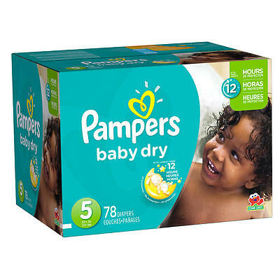 Pampers Baby Dry Size 5, 78 count
