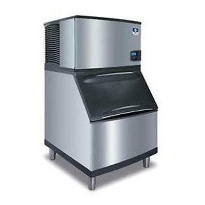 "Manitowoc IY-0304A + B-400 Indigo 30"" Air Cooled Half-Dice 310lb Ice Maker"