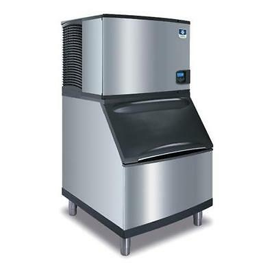 "Manitowoc IY-0454A + B-400 Indigo 30"" Air Cooled Half-Dice 450lb Ice Maker"