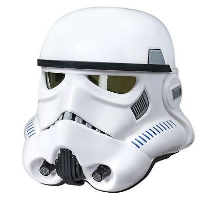 NEW Star Wars The Black Series Imperial Stormtrooper Electronic Helmet Voice