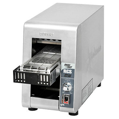 Star RCS2-600BN Radiant Conveyor Toaster 600 Bagel Halves/Hr 120V