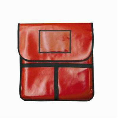 "Thunder Group PLPB018 Pizza Delivery Bag Red Insulated 18"" x 18"" x 5"""