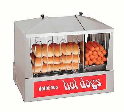 Star 35SSC Classic Hot Dog Steamer Holds 130 Hot Dogs & Warms 40 Buns
