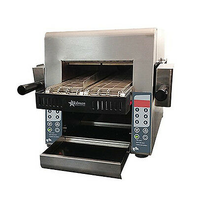 "Star IRCSE2-SB Holman QCS (2) 5"" Wide Horizontal Conveyor Toaster Electric"
