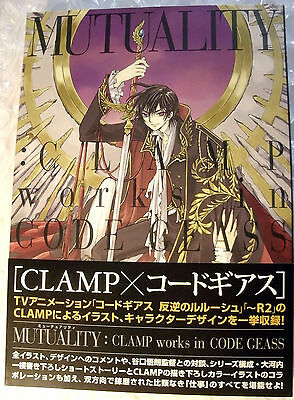 Artbook MUTUALITY Clamp works in Code Geass Anime Manga Art works 1st Press!!