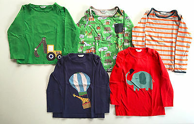 Lot of 5 Baby Boden Mini Boden Long-Sleeve T-Shirts Size 2-3 Years