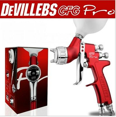Professional GFG England devilbiss gravity spray gun FREE DELIVERY