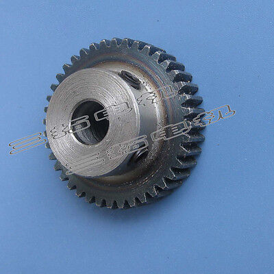 1Pcs Motor Metal Spur Gear 1Mod 40Tooth 1M40T 42mm Outer Diameter 8/10mm Bore
