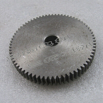 1Pcs Motor Metal Spur Gear 1Mod 70Tooth 1M70T 82mm Outer Diameter 12mm Bore