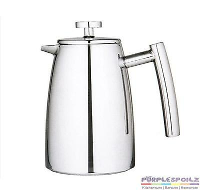 NEW AVANTI 3 CUP INSULATED COFFEE PLUNGER 350ml French Press Stainless Steel