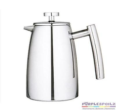 NEW AVANTI 6 CUP INSULATED COFFEE PLUNGER 800ml French Press Stainless Steel