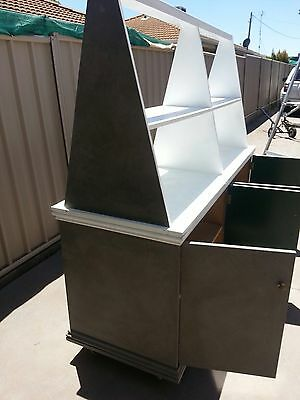 2x Retail Display Cabinets Pick Up Echuca