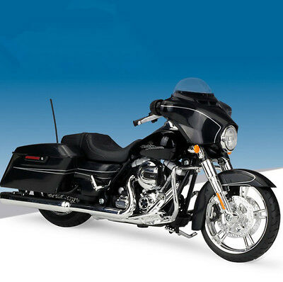 Maisto 1:12 Harley Davidson Street Glide Special Motorcycle Model Toy New