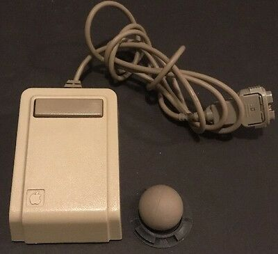 Rare Apple Lisa-1 Mouse A9M0050 early S#009535 Extremely Clean Coloring