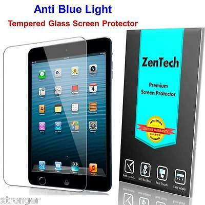 2X ZenTech® Tempered Glass [Anti Blue Light] Screen Protector For iPad Air 2 & 1