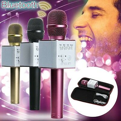 Q9 Microphone KTV-Q9 Wireless Karaoke Handheld Microphone Bluetooth USB Speaker