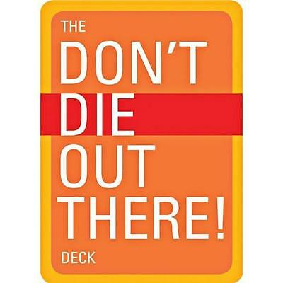 Mountaineers Books The Don'T Die Out There Deck - Water Resistant Card Stock