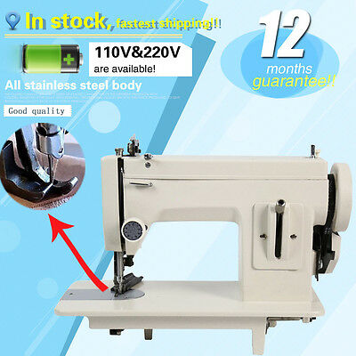 106-RP Thick fabric sewing machine for fur,leather,fell clothes thicken,7'' arm