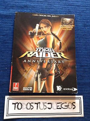 Guia Tomb Raider Anniversary  Playstation Ps2 Oficial BUENA CONDICION