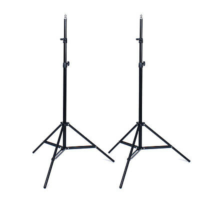 2x Photo Photography Studio 2M Light Stand Tripod for Lighting Kit S*