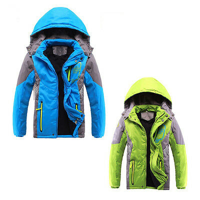 Children Outerwear Warm Coat Sporty Clothes Waterproof Windproof Thicken Boys SP