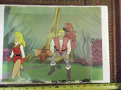 He Man Cartoon Original Hand Painted Animation Cell