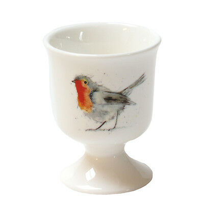 Robin Egg Cup - Christmas Stocking Gift - Fine Bone China - Made in England