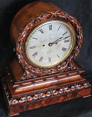 antique double fusee board room clock ketterer & co portsea