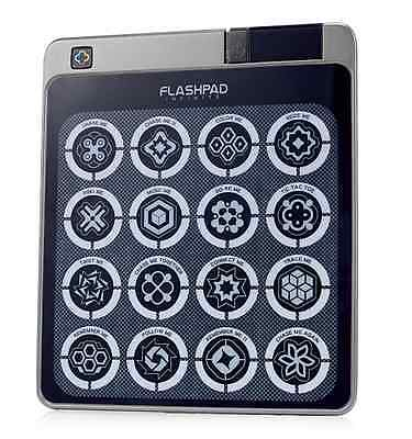 FlashPad Infinite Touchscreen Electronic Game with 16 Games in Silver