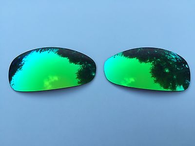 Polarized Green Custom Mirrored Replacement Oakley Juliet Lenses