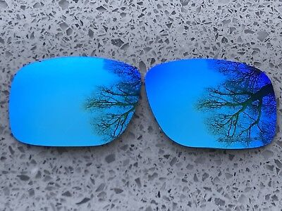 Polarized Ice Blue Mirrored Replacement Oakley Holbrook Lenses