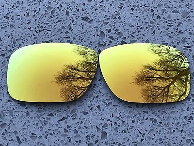 New Polarized Orange Mirrored Replacement Oakley Holbrook Lenses